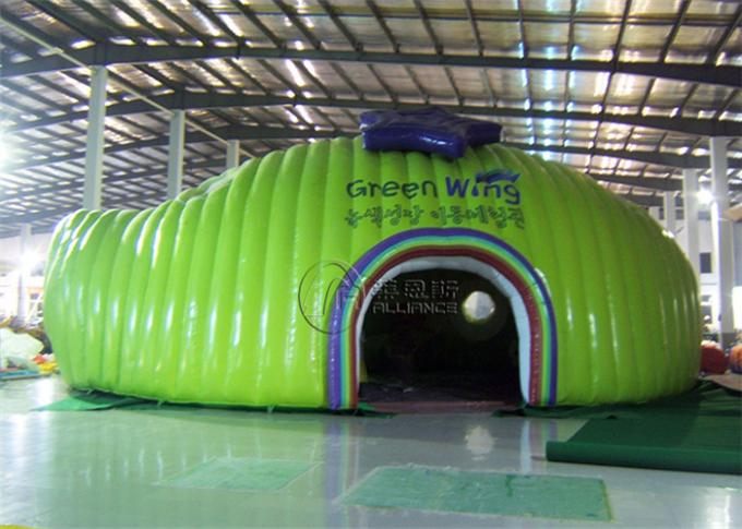 Anti Rot Inflatable Bubble Tent House Bouncy Castle Use Transparent Inflatable Tent 0