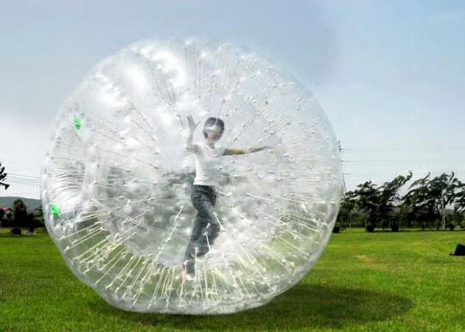 land zorb ball grass zorb for park outdoor sport inflatable toys 0