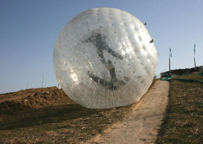 land zorb ball grass zorb for park outdoor sport inflatable toys 1