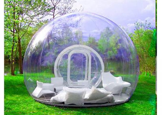 Fire Retardant Inflatable Bubble Camping Tent Waterproof For Public Square