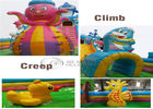 outdoor playground equipment shark slide lager inflatable slide for sale supplier