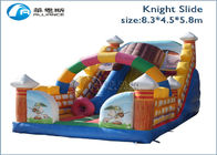 New children popular jumpers knight inflatable slide supplier