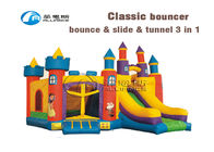 China Classic Castle kids combo inflatable air castle factory