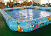Cartoon Square Swimming Backyard Inflatable Pool Funny Pool Inflatables supplier