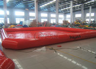 China Large Multifunctioin Inflatable Water Pool Zorb Ball Swimming Wading Pool factory