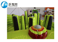 China Toddler Bouncy Obstacle Course Jumper House EN71 / SGS / CE / UL Certificate factory
