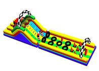 China Giant Adult PVC Inflatable Obstacle Course 3 Years Warranty For Park factory