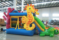 Anti Mildew Kids PVC Tarpaulin Inflatable Bounce Castle Easy Installation supplier