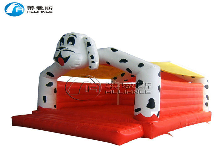 Fleck Dog Inflatable Bounce House Customized Bouncy Bounce Inflatables supplier