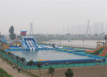 Factory Price Metal Frame Swimming Pool For Water Park
