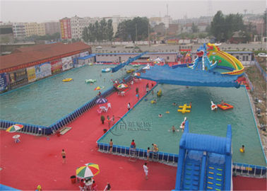 Colorful Metal Frame Pool Steel Frame Above Ground Pools For Water Park