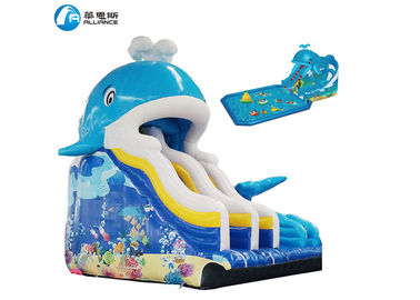 Customized Commercial Inflatable Water Slides Professional Bouncy Water Slide