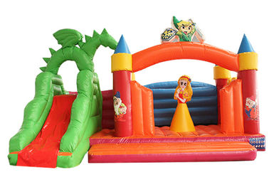 ALLIANCE snow white Inflatable jumping Castle with slide For kids