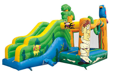 New bird castle kids indoor jumping house party renting inflatable jumper castle with slide