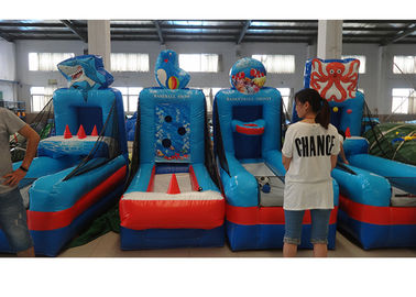 4 In 1 Sports Game Inflatable Jumping Castle Welcomed For Kids And Adults