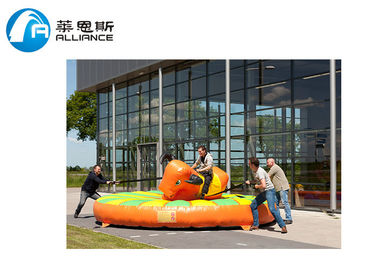 Commerial Grade Inflatable Bull Rodeo Kids Bouncy Castle For Amusement Park