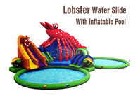 Lobster Paradise Commercial Inflatable Water Slides Big Blow