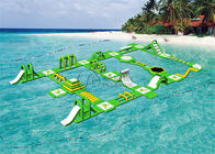 Giant Mobile Floating Water Playground PVC Tarpaulin
